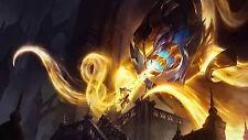 Poster 42x24 cm League Of Legends Vel'koz Luz Celestial LOL