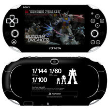 Skin Decal Sticker For PS Vita Slim PCH-2000 Series-POP SKIN Gundam Breaker #02