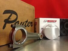 Pauter X-Beam Rods Wiseco Pistons Toyota Starlet Glanza EP82 EP91 3E 5E 74.5mm 9
