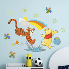 Winnie The Pooh Animal Wall Decor Vinyl Decal Stickers Removable Mural Kids Gift