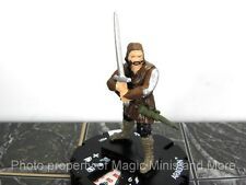 Lord of the Rings ARAGORN #1 HeroClix LOTR Two Towers miniature Wizkids #001