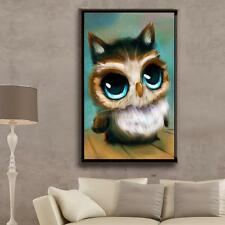 Adorable Owl 5D Diamond Painting DIY Embroidery Cross Stitch Home Decor Craft #5