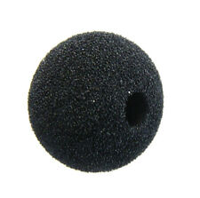 "Shure EZG EZO MX183 184 185 Foam round windscreen Black 3/8"" WindTech 5071-15"