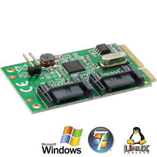 Inline mini-PCI-Express mapa, 2x SATA 6gb/s (SATA 3.0)