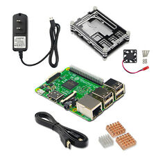 Raspberry Pi 3 Model B Kits Board + Power Adapter + HDMI Cable + Heat-Sink Cover