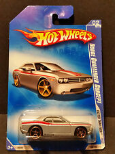2009 Hot Wheels #128 Faster Than Ever 2/10 - Dodge Challenger Concept -P2448 (A)