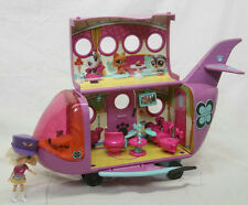 RARE VERSION LITTLEST PET SHOP AIRPLANE WITH BLYTHE PILOT