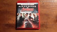 The Avengers Age Of Ultron 3D + 2D Blu ray's,No Digital,Marvel