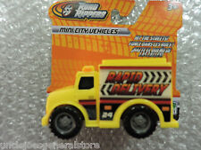 ROAD RIPPERS Plastic Toy Model DELIVERY TRUCK Mini City Vehicles 1/43 Scale