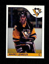 1985-86 O-Pee-Chee Hockey Complete Set + Sticker Set - Lemieux Rookie Card NM