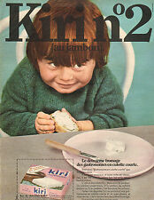 Publicité Advertising 1970  Fromage Kiri  N°2  au jambon