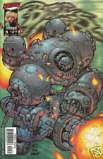 BATTLE CHASERS # 4 WAR GOLEM Cover Fi (Image,1998) original Comic Book