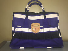 Authentic Pre-owned Prada Canvas Striped Tote $1,375