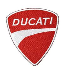 NEW DUCATI MOTORCYCLE RACING LOGO BADGE EMBROIDERED IRON ON PATCH SHIRT PO554
