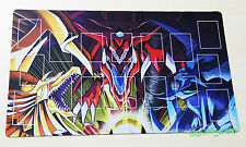 E880# FREE MAT BAG Egyptian Gods Play Mat Custom Yugioh Playmat Pendulum Zones