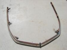 Vintage Bombardier Skidoo 1972 Olympic Olympique Front Hood Bumper A62