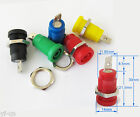 5colors Binding Post Banana Jack Hex Screw for 4mm safety Protection plug Lot