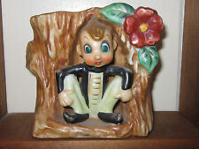 Vintage Acme China Pixie Elf Figurine Planter Made From Japan