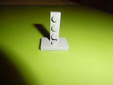Lego Eisenbahn:  1 Stütze Fuß für Gittermasten althellgrau