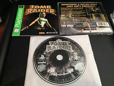 Tomb Raider Greatest Hits Version Playstation 1 2 PS1 PS2 System Complete Game