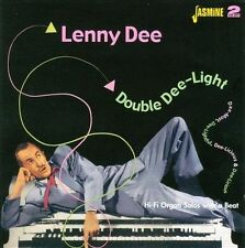 Double Dee-Light * by Lenny Dee (CD, May-2006, 2 Discs, Jasmine Records)