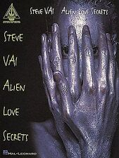 Steve Vai Alien Love Secrets Learn to Play Rock Guitar TAB Music Book