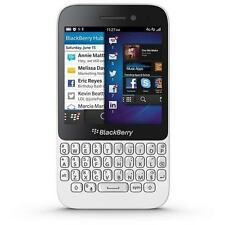 "BlackBerry Q5 SQR100-3 White (FACTORY UNLOCKED) 8GB ,3.1"",Dual-Core 1.2GHz, 5MP"