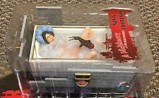 Nancy Thompson Freddy Krueger Figure Bath Tub Nightmare On Elm Street Mezco neca