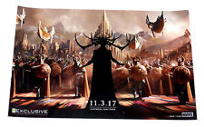 Thor 3 Ragnarok Movie 2016 SDCC Exclusive Promotional Litho Poster 13x20 Inches
