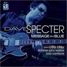 "Dave Specter w/ Otis Clay ""Message in Blue"" - New/Sealed Delmark LP"