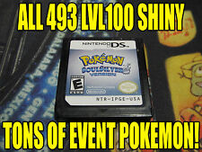 POKEMON SOULSILVER All 493 SHINY GAME UNLOCKED & EVENT POKEMON!