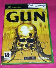 GUN XBOX NEUF SOUS BLISTER VERSION FRANCAISE