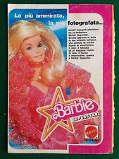 VV74 Pubblicità Advertising Clipping 19x13 cm (1973) BARBIE SUPERSTAR MATTEL