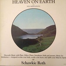 SCHAWKIE ROTH 'HEAVEN ON EARTH AND SOLO MEDITATIONS'  RARE LP LIKE NEW 1978