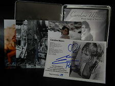 Caroline Munro Signed Limited First Lady of Fantasy DVD Rare Tin Photos OOP