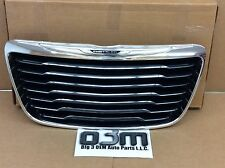 2012-2014 Chrysler 300 Front Radiator Grille Black and Chrome new OEM 68155788AA