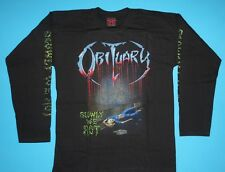 Obituary - Slowly We Rot T-shirt Long Sleeve size L