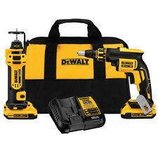 DEWALT 20V Max XR Cordless Li-Ion Brushless 2-Tool Combo Kit DCK263D2 New