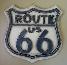 Classic Route 66 Wood Wall Sign!