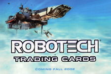 ROBOTECH 2002 HERO FACTORY PROMO CARD P1 AN