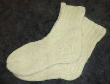 socks 100% wool sheep hand knit, mens
