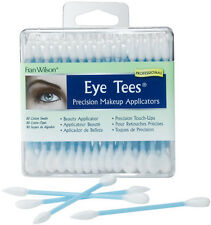 Fran Wilson Eye Tees Professional makeup applicators 80 Double Tip Cotton Swabs.