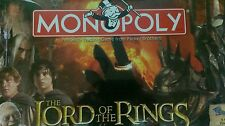 NEW Monopoly Lord of The Rings Collectors Edition 2005
