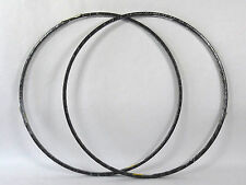 Campagnolo rim set Omega tubular 36 hole 700c rims Vintage Racing Bicycle NOS