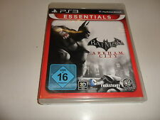 PlayStation 3  PS3  Batman: Arkham City - Essentials