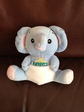 NEW Pampers Blue Elephant In Nappy Baby Soft Toy Teddy Comforter 16cm Brand New