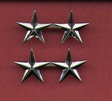 Pair of Two Star General's Rank Insignia 1/2 size