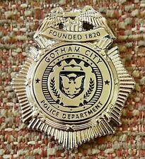 GOTHAM CITY POLICE DEPARTMENT Batman Mini Badge Lapel Pin