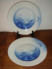 CHRISTMAS ROSE 21½ cm LUNCH plates # 326 Bing & Grondahl Royal Copenhagen 1st