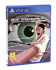 Dead Synchronicity: Tomorrow Comes Today [Playstation 4 Soundtrack & Poster]